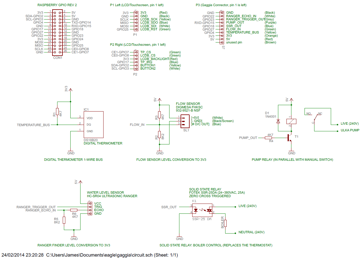 Project Coffee Espiresso Machine Blog Digital Thermometer Circuit Diagram Rev1