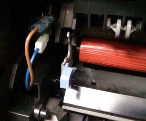 MFC-8860DN Fuser Heater Terminals
