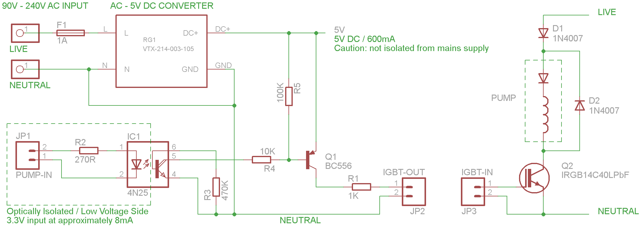EP5 Pump PWM with IGBT